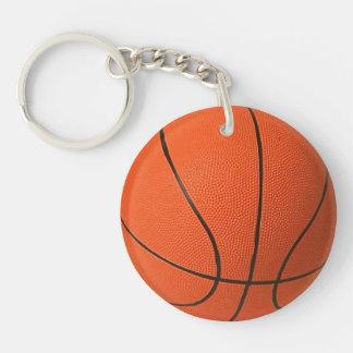 Llavero del acrílico del baloncesto