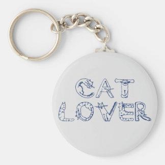 Llavero del amante del gato