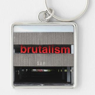 Llavero del aparcamiento del Brutalism