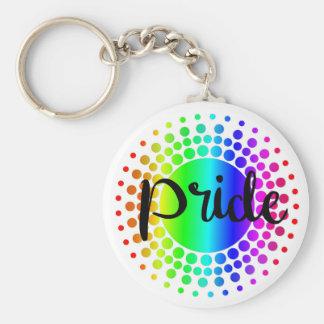 Llavero del arco iris del orgullo