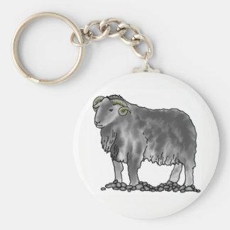 Llavero del arte de las ovejas de Herdwick del