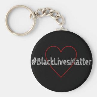 Llavero del #BlackLivesMatter