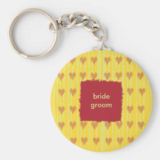 Llavero del boda del limón