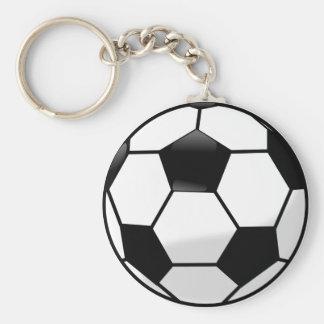 Llavero del botón de Soccerball