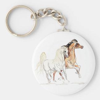 Llavero del caballo de Arabain