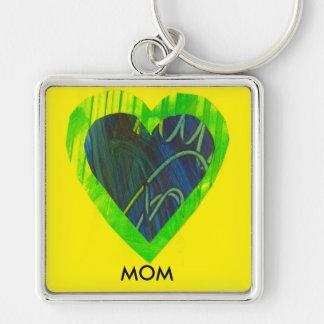 Llavero del corazón del día de madre