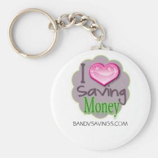 Llavero del dinero del ahorro