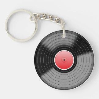 Llavero del disco de vinilo