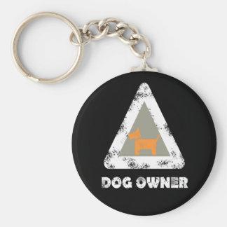 Llavero del dueño del perro