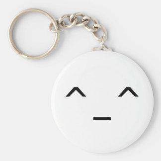 Llavero del Emoticon del ^_^