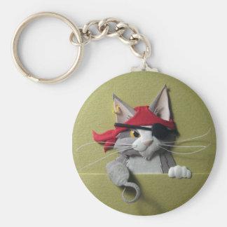 Llavero del gatito #2 del pirata