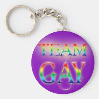 Llavero del gay del equipo