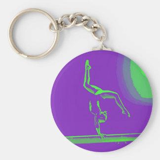 Llavero del gimnasta