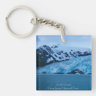 Llavero del glaciar de Alaska