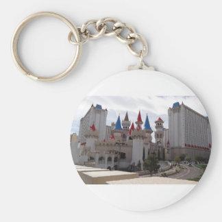 Llavero del hotel y del casino de Excalibur