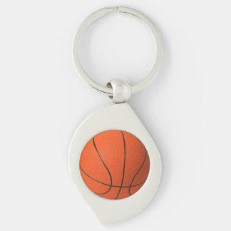 Llavero del metal del baloncesto