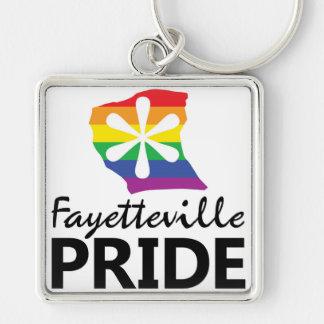 Llavero del orgullo de Fayetteville