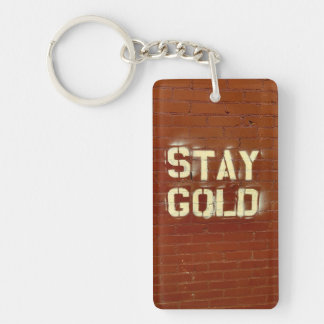 Llavero del oro de la estancia