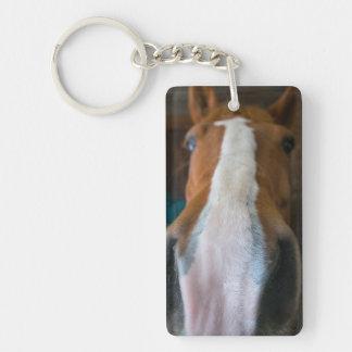 Llavero del retrato del caballo