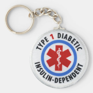 Llavero Diabético del tipo 1