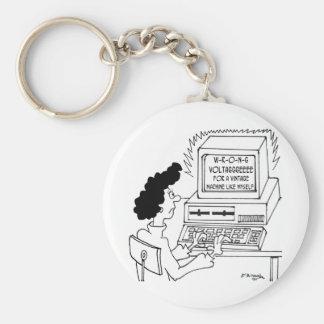 Llavero Dibujo animado 4369 del ordenador