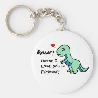 Llavero Dinosaurio