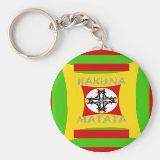Llavero Diseño asombroso hermoso de Hakuna Matata