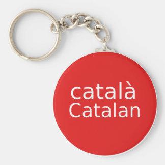 Llavero Diseño catalán de la lengua