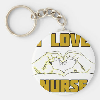 Llavero diseño de la enfermera