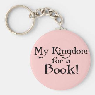 Llavero Diversión Shakespeare mi reino para una camiseta