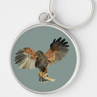 Llavero El aleteo del halcón se va volando la pintura de