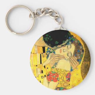 Llavero El beso por el arte Nouveau de Gustavo Klimt