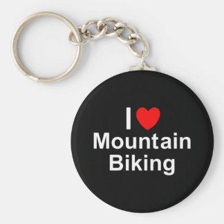 Llavero El Biking de la montaña
