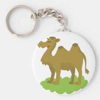 Llavero el caminar del camello alto
