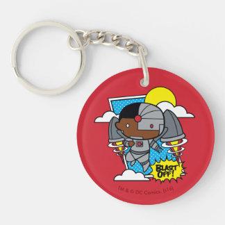 Llavero ¡El Cyborg de Chibi arruina apagado!