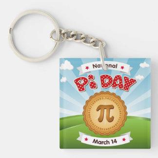 Llavero ¡El día del pi, celebra matemáticas, come la