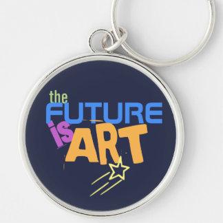 Llavero El futuro es artistas del indie del arte