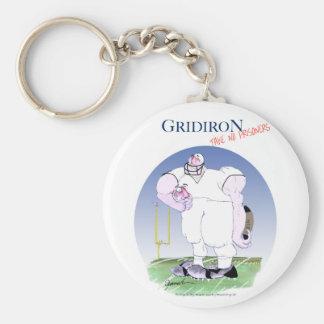 Llavero El Gridiron no toma a ningún preso, fernandes tony