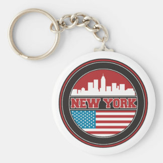Llavero El horizonte el | Estados Unidos de Nueva York