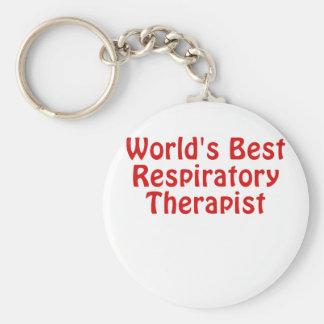 Llavero El mejor terapeuta respiratorio de los mundos