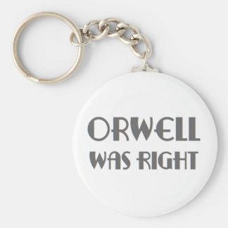 Llavero el orwell correcto