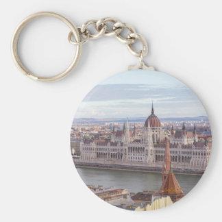 Llavero El parlamento húngaro Budapest por día