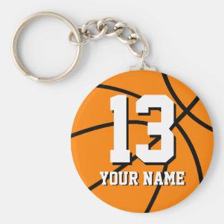 Llavero el | Personalizable del baloncesto del núm