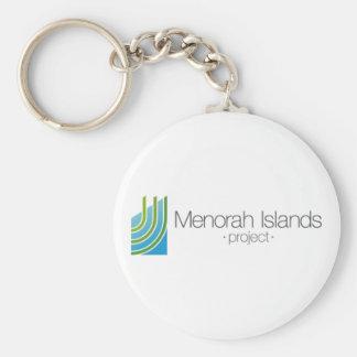 Llavero El proyecto de las islas de Menorah