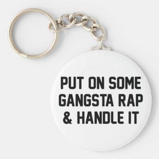 Llavero El rap de Gangsta y lo dirige