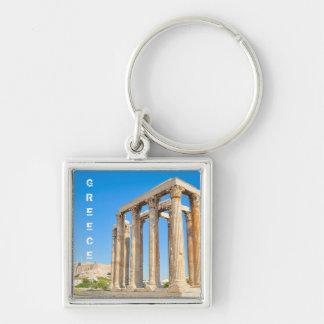 Llavero El templo de Zeus olímpico en Atenas, Grecia