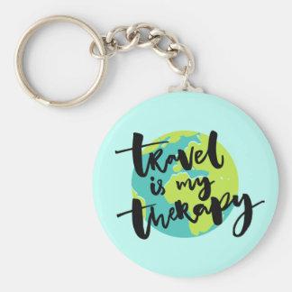 Llavero El viaje es mi terapia
