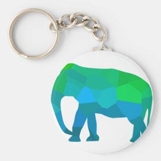 Llavero Elefante 1 del mosaico