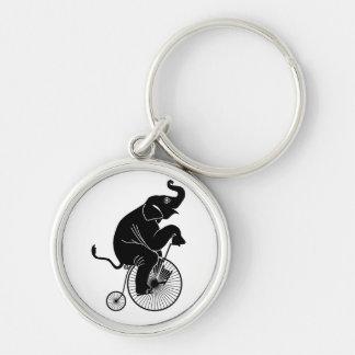 Llavero Elefante que monta una bici