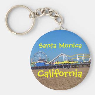 Llavero Embarcadero de Santa Mónica, California